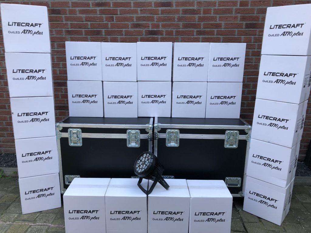 Litecraft LED Scheinwerfer Bestand erweitert.