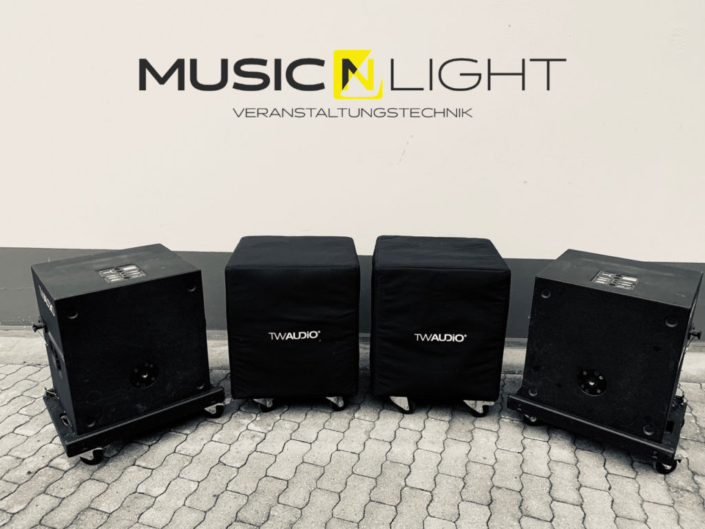 Neue TW Audio B/S15 Bässe eingetroffen.